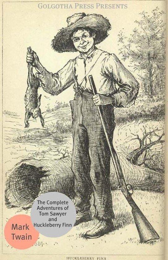 Boek cover The Complete Adventures Of Tom Sawyer And Huckleberry Finn van Mark Twain (Onbekend)