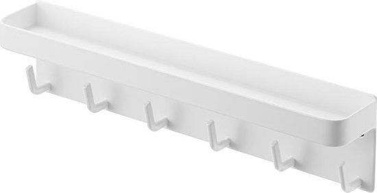 Yamazaki Sleutelrekje Sleutelhouder - Smart wit - staal