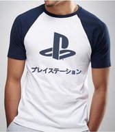 Playstation - FC Club Japanese Logo Men T-Shirt - White - XL