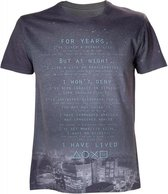 PLAYSTATION - T-Shirt I Have Lived (S)