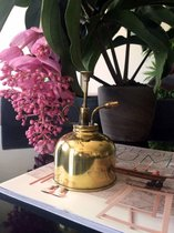 Kikkerland Vintage plantenverstuiver - Plantenspuit - Retro uitstraling - Woonaccessoire - 0,3L