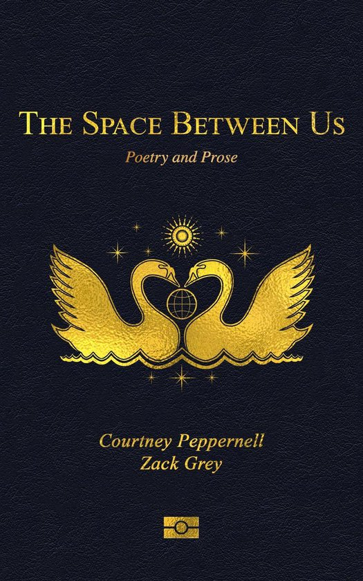 Boek cover The Space Between Us van Courtney Peppernell (Onbekend)