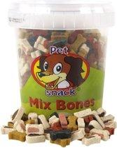 Petsnack Mix Bones - Hondensnack - 500 g