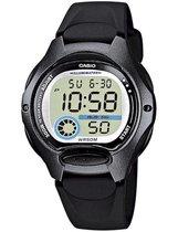 Casio CASIO Collection LW-200-1BVEF Horloge - Kunststof - Zwart - Ø 35 mm