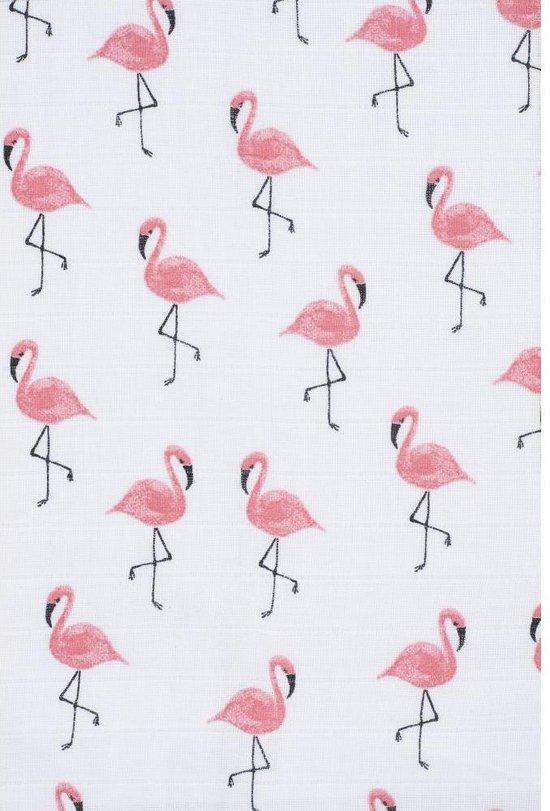 Jollein Flamingo Hydrofiele luier - 4 Stuks