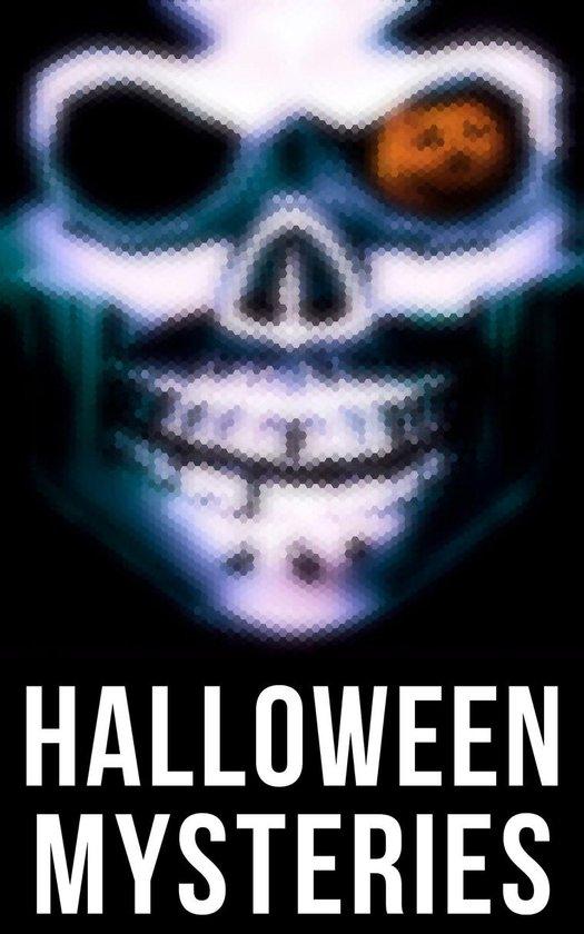 Boek cover Halloween Mysteries van Edgar Allan Poe (Onbekend)