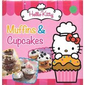 Boek cover Hello Kitty - Muffins en cupcakes van Meerdere auteurs (Hardcover)