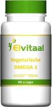 Elvitaal Vegetarische Omega-3 - 90 vegicaps - Vetzuren - Voedingssupplement