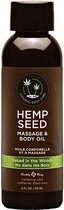 Naked in the Woods Massage Oil with White Tea and Ginger Scent -