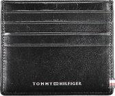 Tommy Hilfiger - Polished leather slide cc holder - heren - chestnut