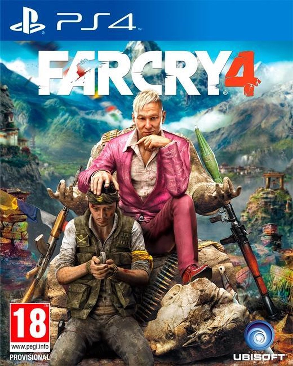 Far Cry 4 - PS4 - Ubisoft