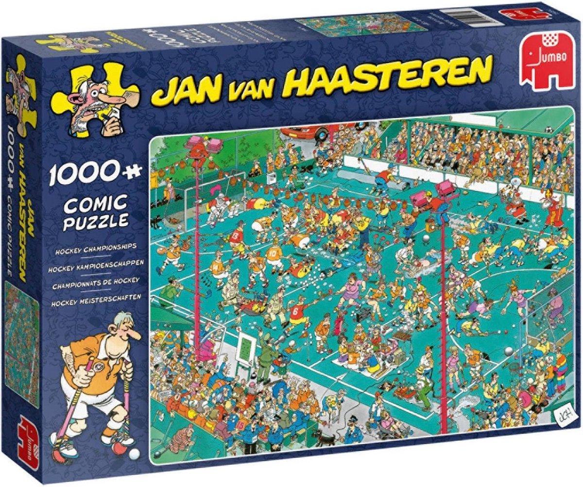 Jan van Haasteren Hockey Kampioenschappen puzzel - 1000 stukjes
