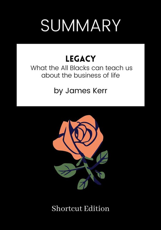 Boek cover SUMMARY - Legacy: van Shortcut Edition (Onbekend)