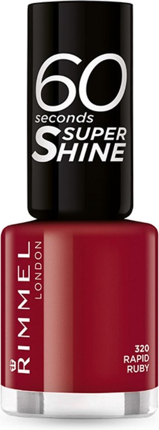 Rimmel London 60 seconds supershine nagellak - Rapid Ruby - Red