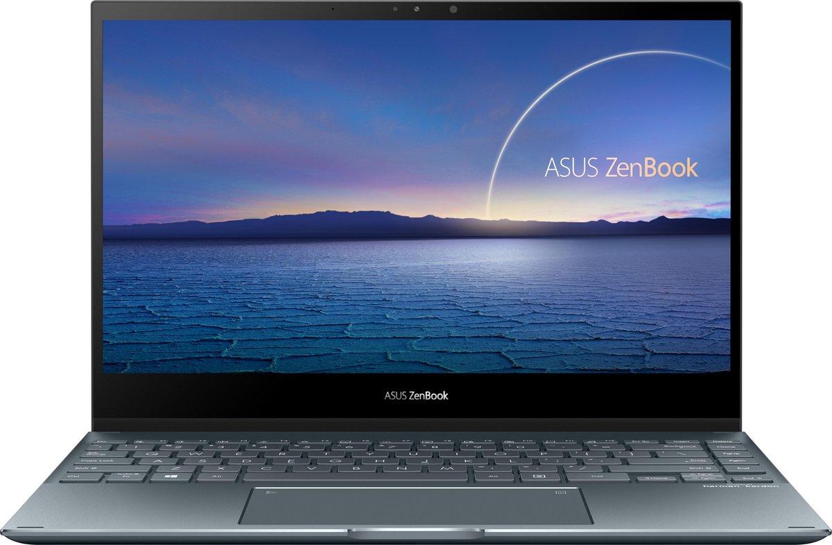 "ASUS ZenBook Flip 13 UX363JA-EM120T LPDDR4x-SDRAM Hybride (2-in-1) 33,8 cm (13.3"") 1920 x 1080 Pixels Touchscreen Intel® 10de generatie Core™ i5 8 GB 512 GB SSD Wi-Fi 6 (802.11ax) Windows 10 Home Grijs"