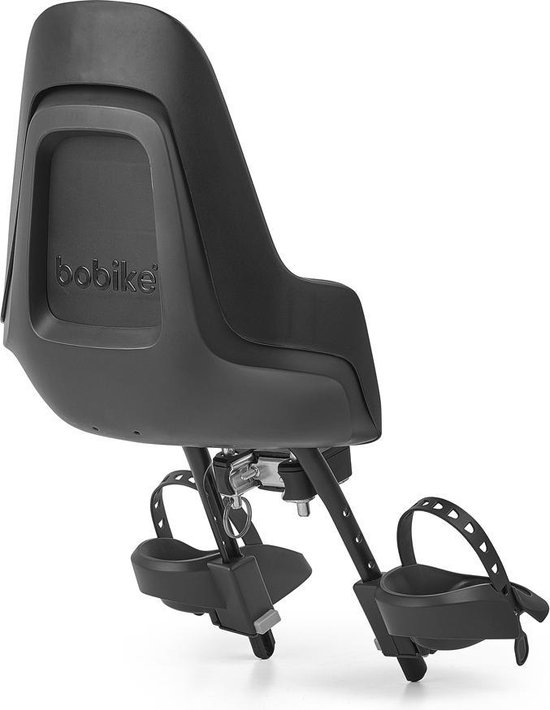 Bobike One Mini Fietsstoeltje Voor - Urban Black