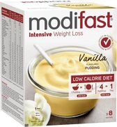 Modifast Intensive Pudding - Vanille - 8 x 52g