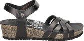 Panama Jack Chia Nature dames sandaal - Zwart - Maat 40