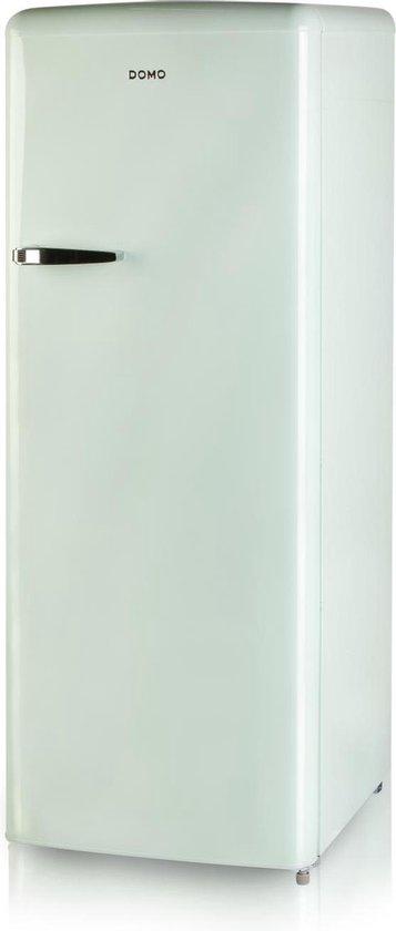 Koelkast: Domo DO984RKMG - Retro koelkast - Mintgroen, van het merk Domo