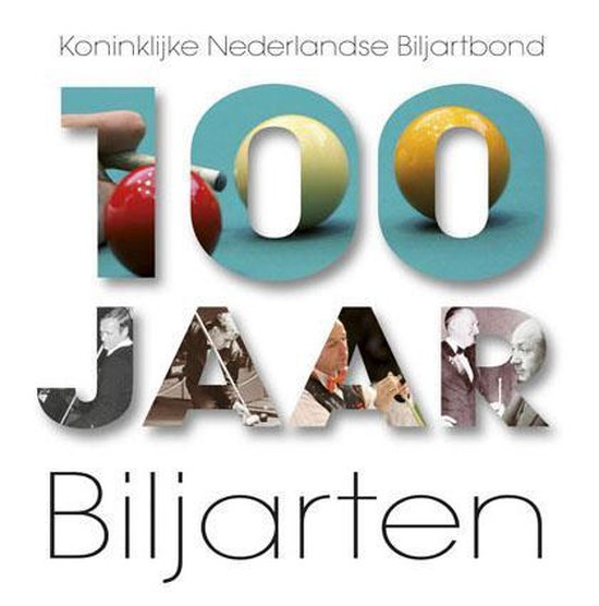 Cover van het boek '100 jaar biljarten' van Hans Coolegem