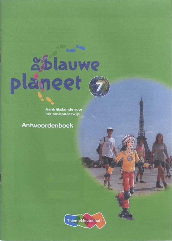 Boek cover De Blauwe Planeet Groep 7 Antwoordenboek van Anton Bakker