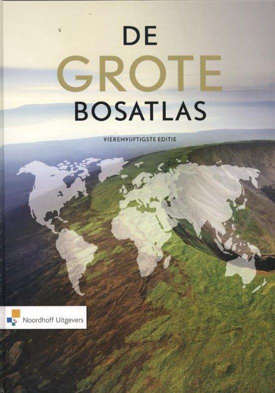 Boek cover De Grote Bosatlas vmbo-havo-vwo van Henk Leenaers (Hardcover)