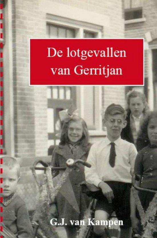 Cover van het boek 'De lotgevallen van Gerritjan' van Gerritjan van Kampen
