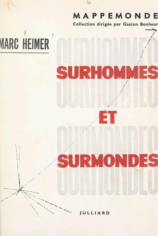 Omslag van Surhommes et surmondes