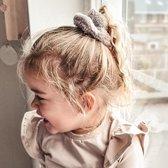 Scrunchie teddy grey | Grijs | Meisje