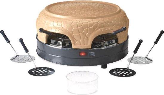 Afbeelding van Trebs 99391 - Pizza Gusto oven voor 6 personen - Bruin-Grijs