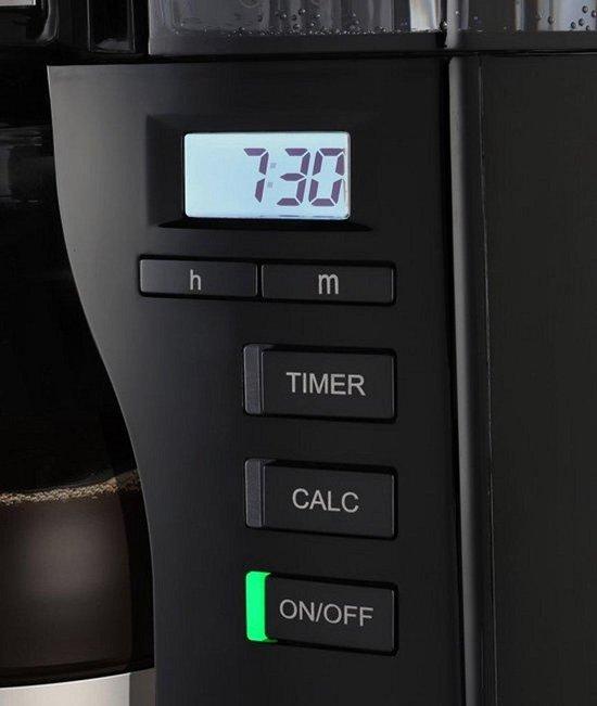 Melitta Look Timer - Filter-koffiezetapparaat - Zwart