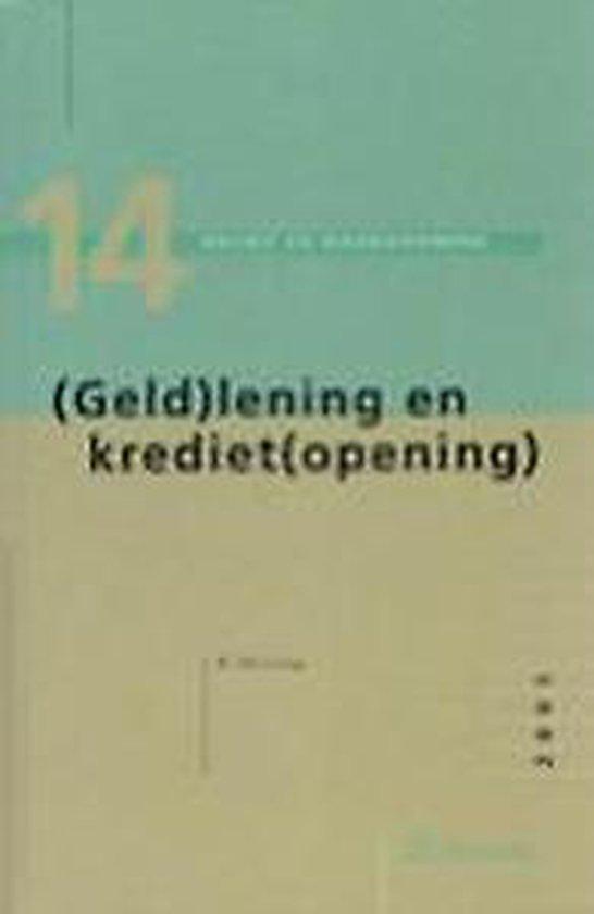 (GELD)LENING EN KREDIET(OPENING)