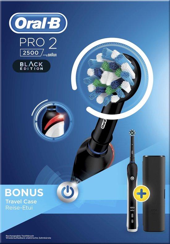 Oral-B Pro 2 2500 - Zwart - Elektrische Tandenborstel - Oral B