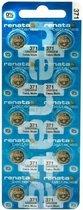 SR920SW  Horloge batterij 371 Renata - 10 stuks