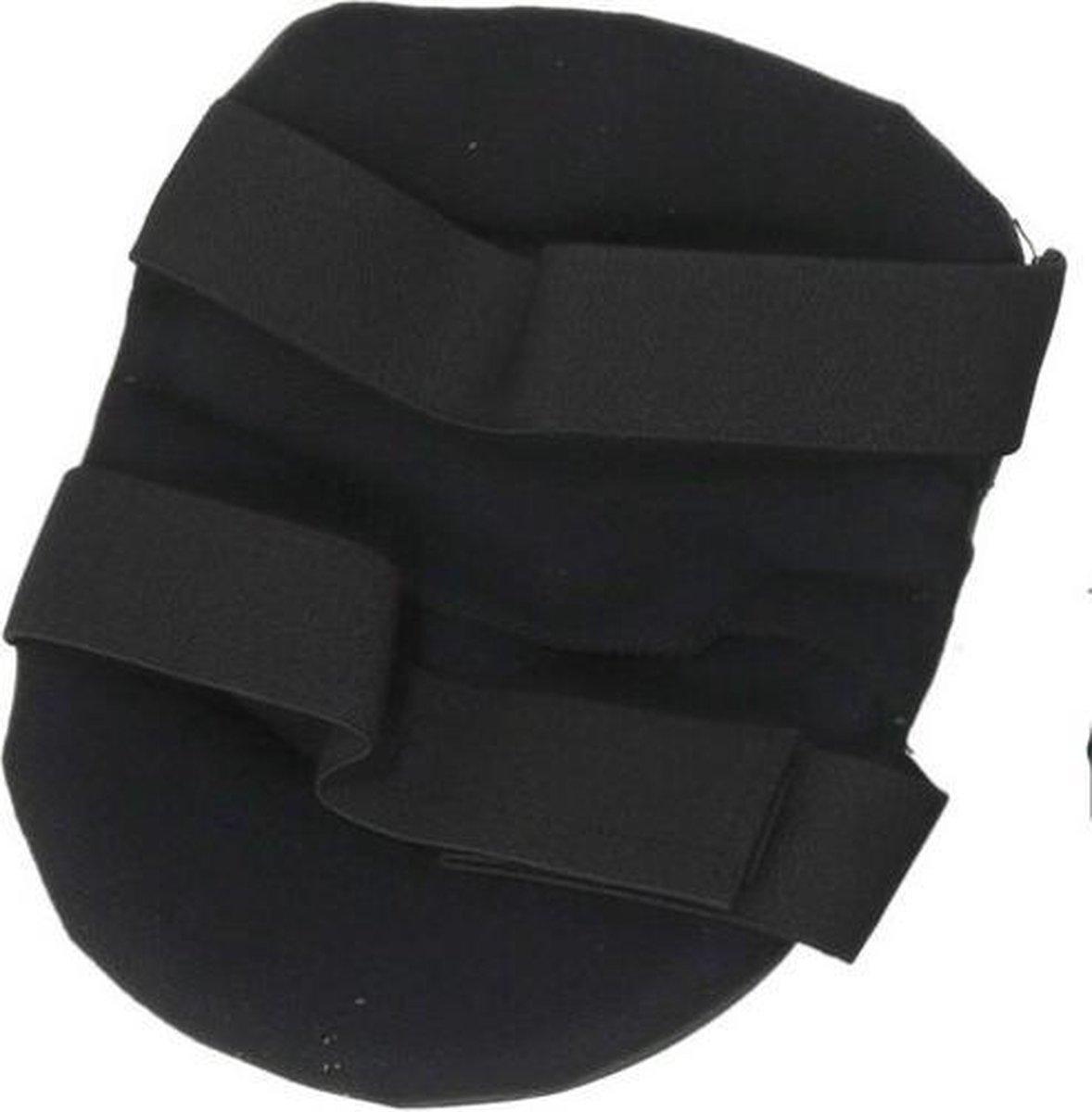 Gerimport Kniebeschermers 23 X 19 Cm Eva Zwart One-size 2-delig