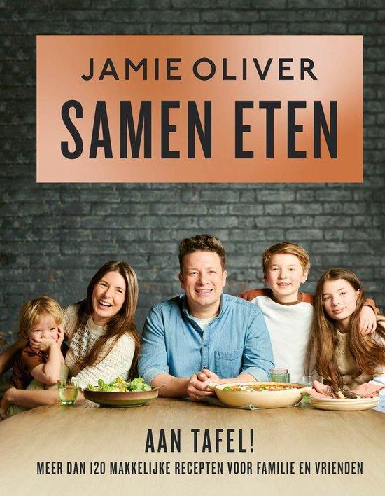 Boek cover Samen eten van Jamie Oliver (Hardcover)