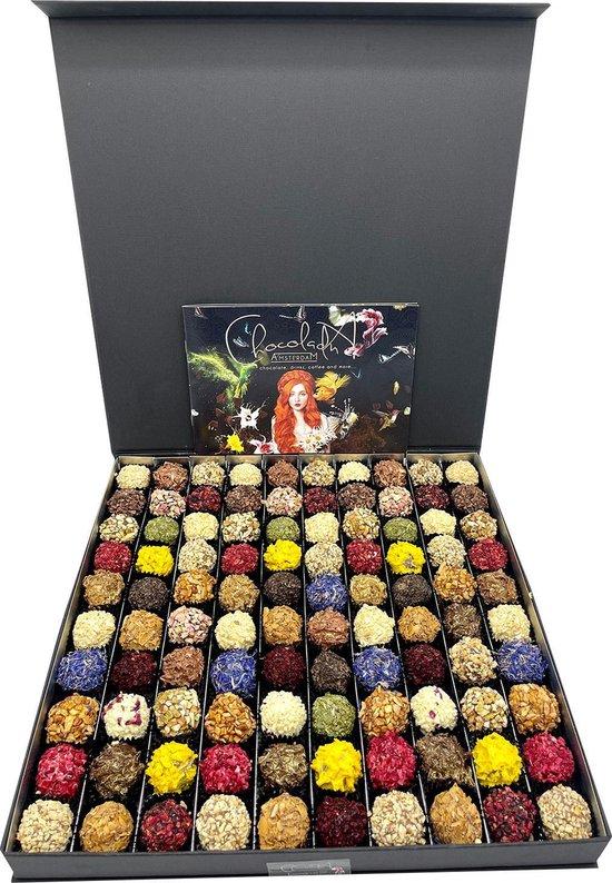 ChocolaDNA - Aller grootste luxe en handgemaakte chocolade truffels in mooie...