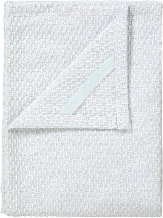 Blomus - Set 2 Tea Towels Lily White/Micro Chip RIDGE