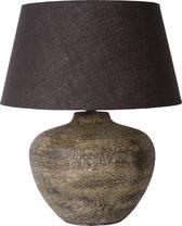 Lucide RAMSES - Tafellamp - Ø 40 cm - 1xE27 - Roest bruin
