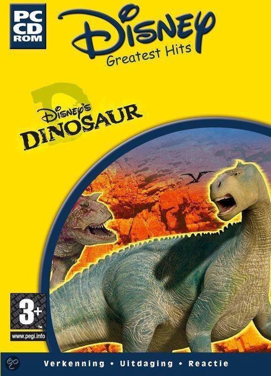 Dinosaur Action Game Windows CD Rom