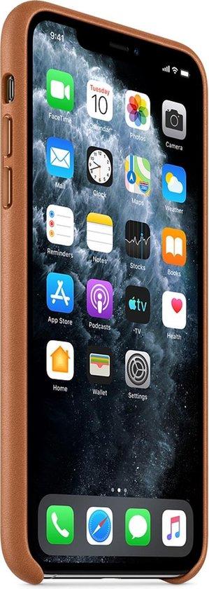 Apple Leren Hoesje voor iPhone 11 Pro Max - Bruin