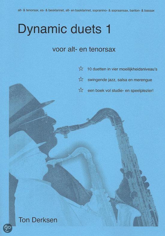 Dynamic Duets 1 voor alt- en tenorsax - Ton Derksen   Fthsonline.com