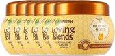 Garnier Loving Blends Honing goud Haarmasker - 6 x 300 ml - Voordeelverpakking