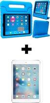 iPad 2017 / 2018 / Pro 9.7 / Air 1/2 Kinderhoes Kidscase Cover Hoesje met Screenprotector - Blauw