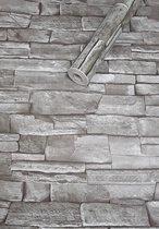 Fotobehang - Zelfklevende folie - Grove witte muur