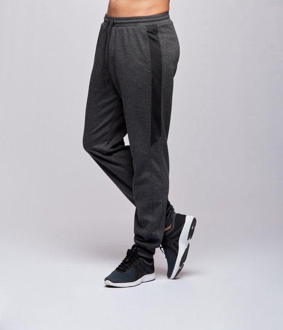 Redmax Heren Joggingbroek - Dark Grey Melange - XL