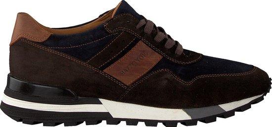 Mazzeltov Heren Lage sneakers 3982 - Bruin - Maat 44