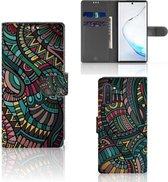 Samsung Galaxy Note 10 Telefoon Hoesje Aztec