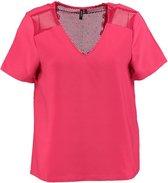 Vero moda stevig polyester blouse shirt - Maat M