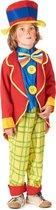 LUCIDA - Clown pak voor jongens Feestkleding - M 122/128 (7-9 jaar)